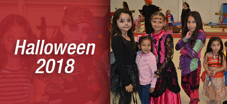 Hallowen Podium Gymnastics 2018